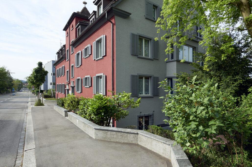 Studenten- und Lehrlingshaus an der Bergstrasse in Zürich